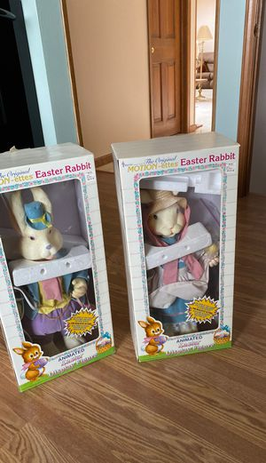 Animated Easter bunnies !!! for Sale in Livonia, MI