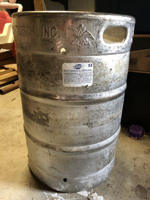 Anheuser Busch Keg 15.5gal for Sale in Seabrook, TX