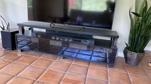 """Entertainment stand, fits TVs up to 80"""" for Sale in Santa Ynez, CA"""