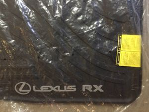 Lexus RX350 all weather floor mats 2013 2014 2015 for Sale in New York, NY