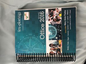 Pearson's myLab Microsoft Office 2016 Volume 1 for Sale in Stratford, CT