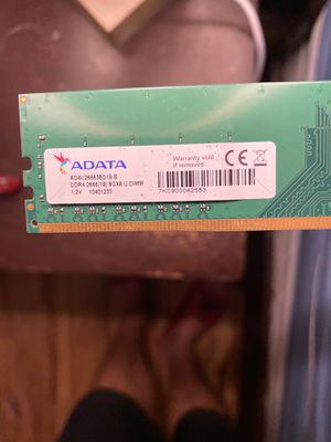 8 GB RAM ADATA For pc for Sale in Port St. Lucie, FL