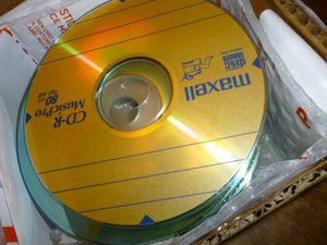65 Blank Audio Cd's for Sale in Los Angeles, CA