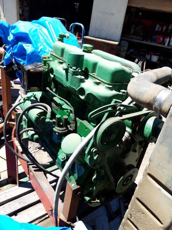 John Deere 4039 rebuilt engine
