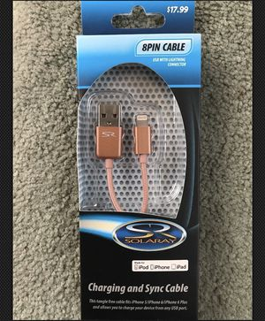 8pin iPhone/iPad chargers cable for Sale in Salt Lake City, UT