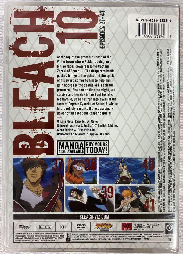 Bleach - Vol. 10 (DVD, 2008, Uncut) Region 1 Brand New