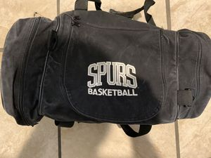 SAN ANTONIO SPURS DUFFLE BAG for Sale in San Antonio, TX