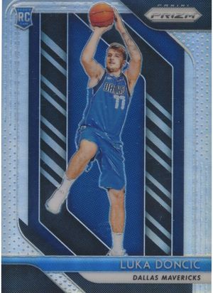 Luka doncic 2018 panini prizm rookie silver #280 for Sale in Oxnard, CA