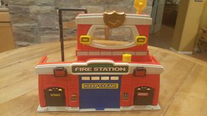 Kids fire station play toy for Sale in Chandler, AZ