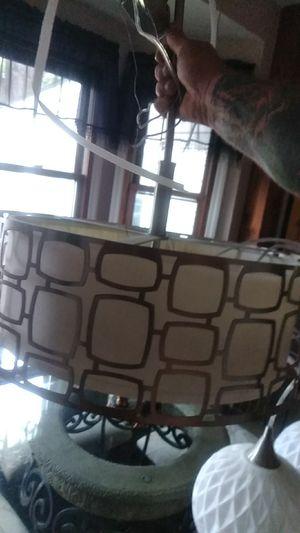 Retro hanging light fixture for Sale in Fenton, MO