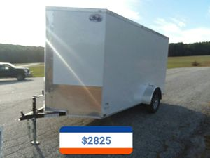 New 6 x 12 Quality Cargo enclosed trailer for Sale in Enfield, CT