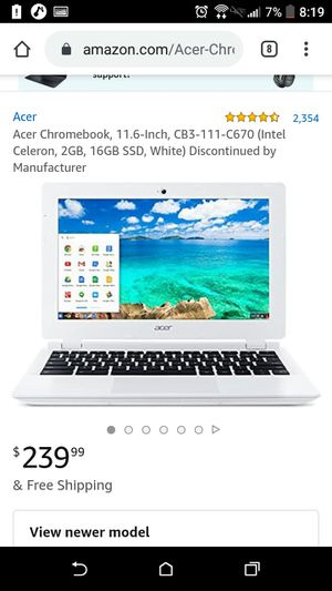 Acer Chrome book 11 for Sale in Hyattsville, MD