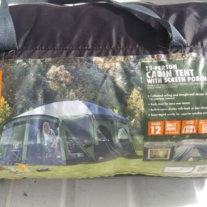12 Man Tent for Sale in Tampa, FL