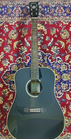 Recording king acoustic guitar with case ! $200 or best offer !; for Sale in Oakland Park, FL
