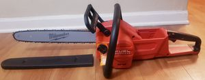 NEW MILWAUKEE FUEL M18V BRUSHLESS CHAINSAW TOOL ONLY for Sale in Glendale Heights, IL