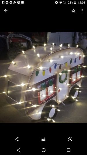Christmas RV camper light up decoration for Sale in Glendora, CA