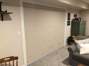 Vinyl Roller Shade for 8' Sliding Glass Door for Sale in Wenatchee, WA