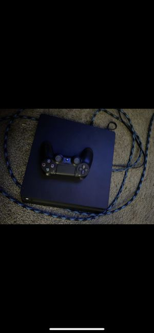 PS4 Slim 1TB - w/ Controller + Wires for Sale in Chandler, AZ