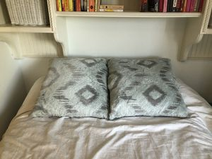 Z Gallerie light blue and grey decorative pillows for Sale in Denver, CO
