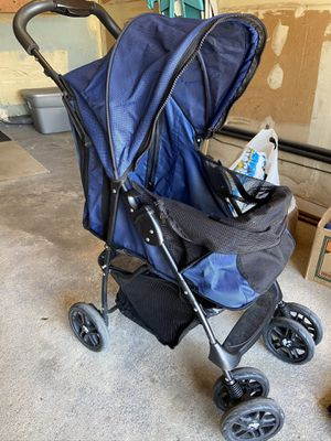 Recently my beautiful sweet 10 pound dog passed away. I have for sale a small dog stroller , canned food, bedding, small metal crate, dog seat fo for Sale in East Meadow, NY