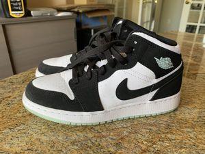 Nike Jordan 1 GS Black Teal Size 5.5Y for Sale in Scottsdale, AZ