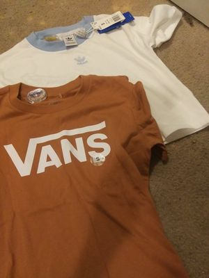Brand new Adidas,vans n calvin klein shirts small for Sale in Albuquerque, NM