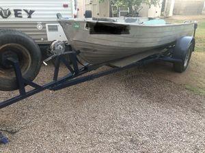 16' Aluminum Fishing Boat for Sale in Gilbert, AZ