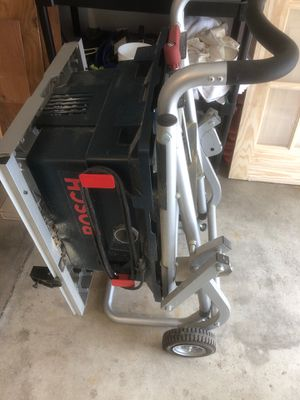 Bosch portable table saw for Sale in Newton, MA