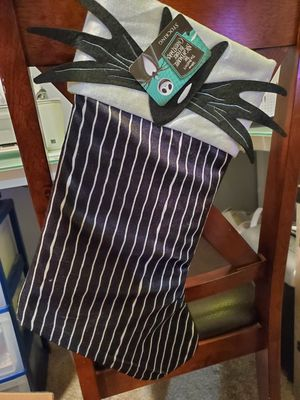 nightmare before christmas jack skellington stocking for Sale in Apple Valley, CA