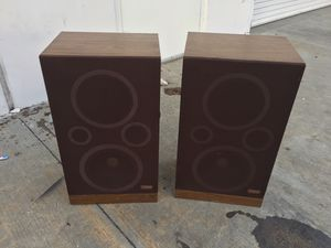 Vintage fisher home stereo speakers made in USA for Sale in Norwalk, CA