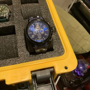 Invicta Sapphire Blue Face And Blue Band Watch for Sale in Sloan, NV