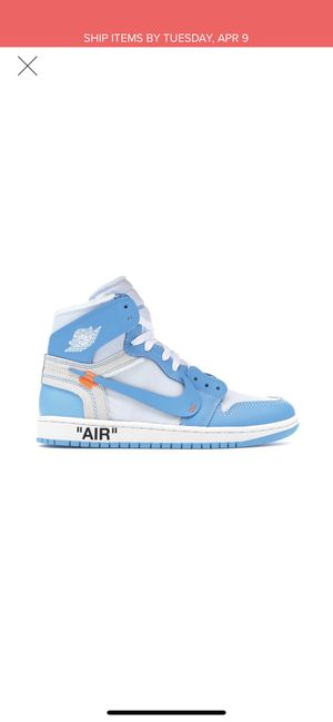 Nike Off White Jordan 1 UNC for Sale in Boston, MA