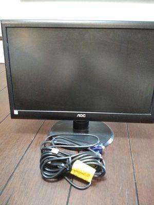 AOC led monitor for Sale in La Porte, TX