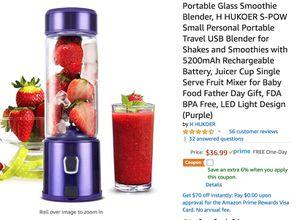 Portable Glass Smoothie Blender [Brand new!] for Sale in Atlanta, GA
