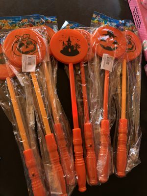 Halloween light up wands $1 each for Sale in Long Beach, CA