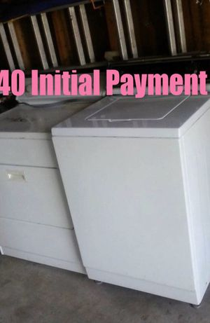 Brand New Washer /Dryer $40 then make payments for Sale in Jonesboro, AR