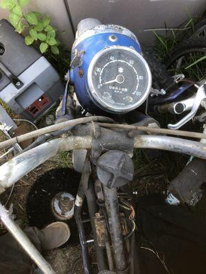 Suzuki t200 antique bike no motor for Sale in Poway, CA