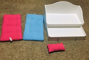 American girl doll double bed for Sale in Arlington, TX