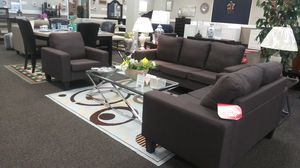 New 3 Piece Sofa Set with Chair for Sale in West Columbia, SC