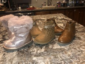 Toddler boots 5 for Sale in Marshville, NC