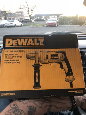 """DeWalt 1/2"""" corded Drill for Sale in Stockton, CA"""
