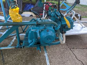 Go cart with dirt bike engine.... for Sale in Monaca, PA