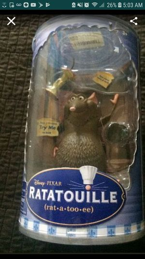 Ratatouille collector figure for Sale in Little Rock, AR