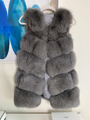 Polar fox fur vest for Sale in Arlington, VA