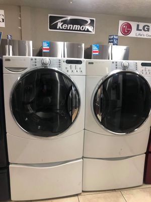 KENMORE ELITE HE5 FRONT LOAD WASHER AND DRYER SET for Sale in Riverside, CA