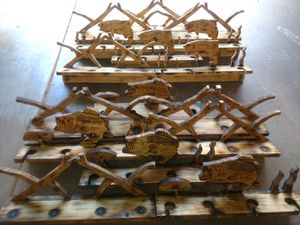 Fishing rod holders top and bottom for Sale in Phoenix, AZ