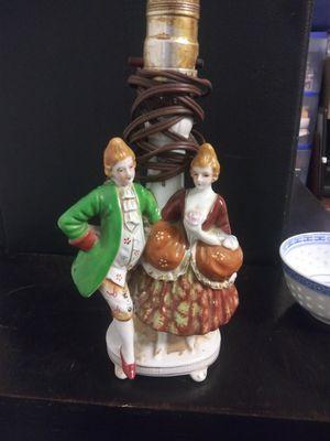 ANTIQUE CERAMIC TABLE LAMP for Sale in Austin, TX