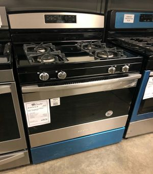 😇New Amana Stainless Steel Gas Stove | 1 Year Manufacturer Warranty for Sale in Mesa, AZ
