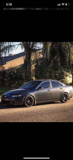 Tenzo r wheels rims Honda 5x114 Acura for Sale in Kingsburg, CA