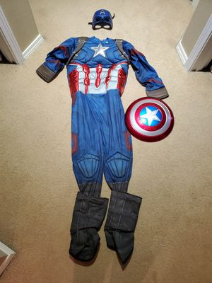Captain America custome for Sale in Vancouver, WA